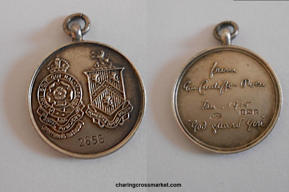 WWI tribute medal